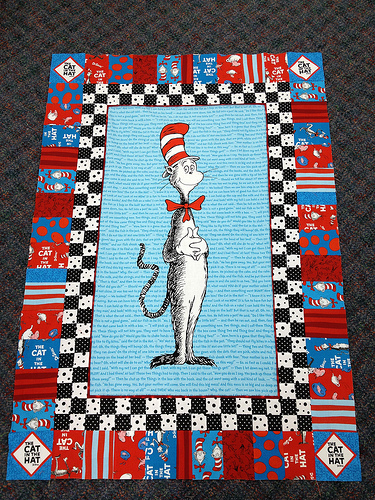 Cat in the Hat is on the Way | Guildcrafters Quilt Shop : dr seuss quilt kit - Adamdwight.com