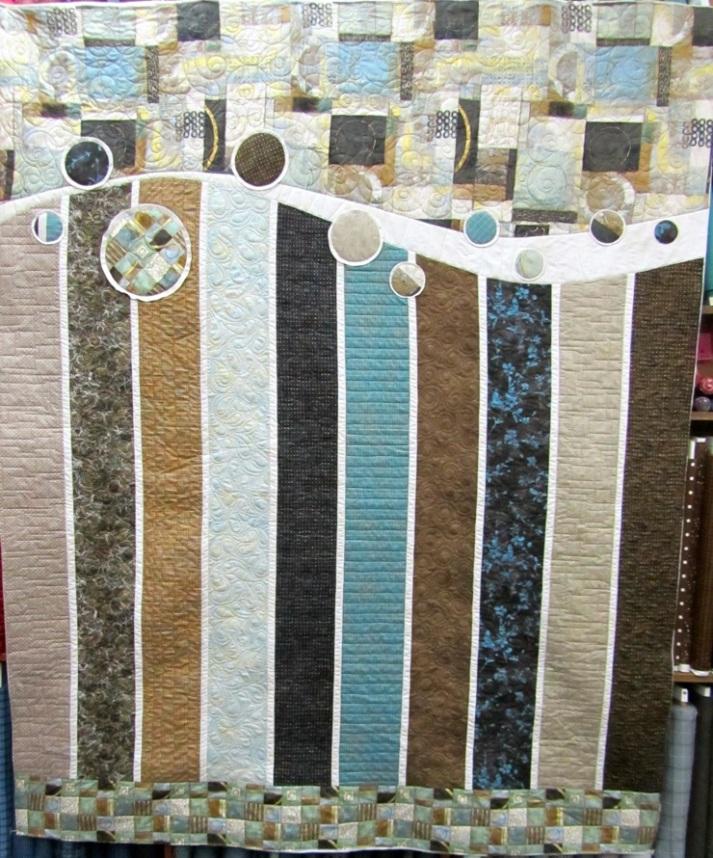 column circle quilt